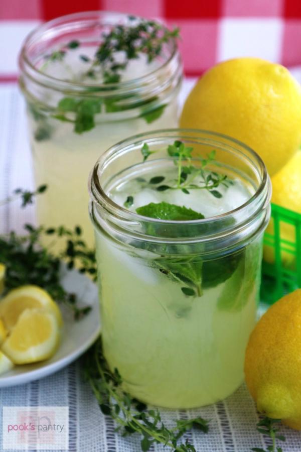 Mint Lemon Thyme Lemonade