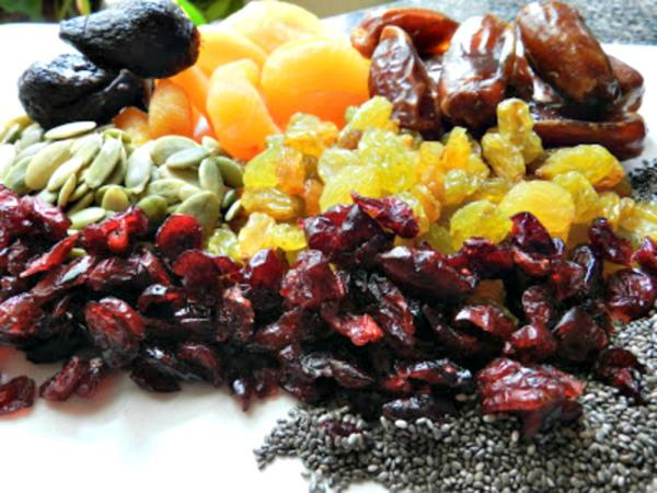dried fruit for granola