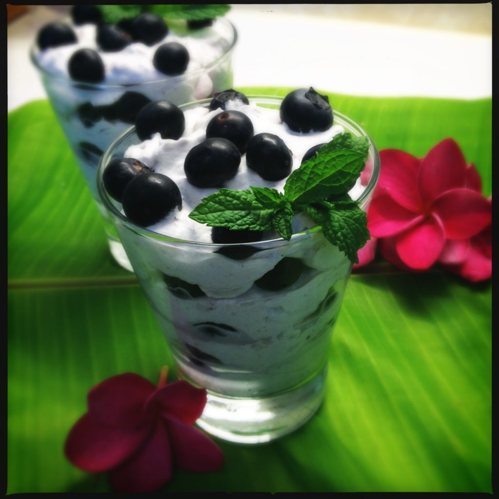 blueberry foolish eton mess