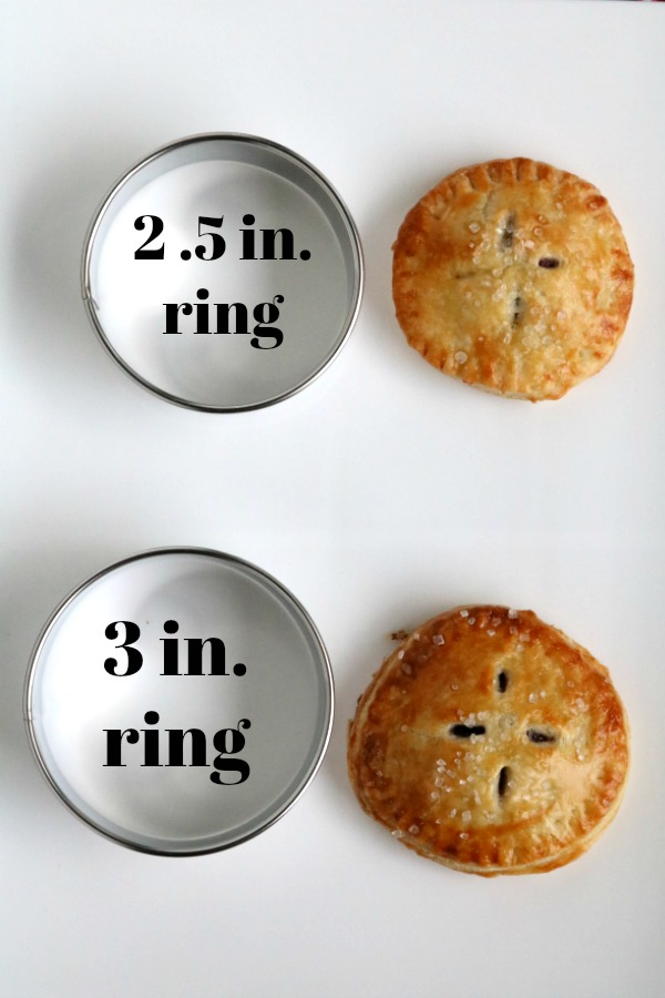 2.5 inch ring vs 3 in ring
