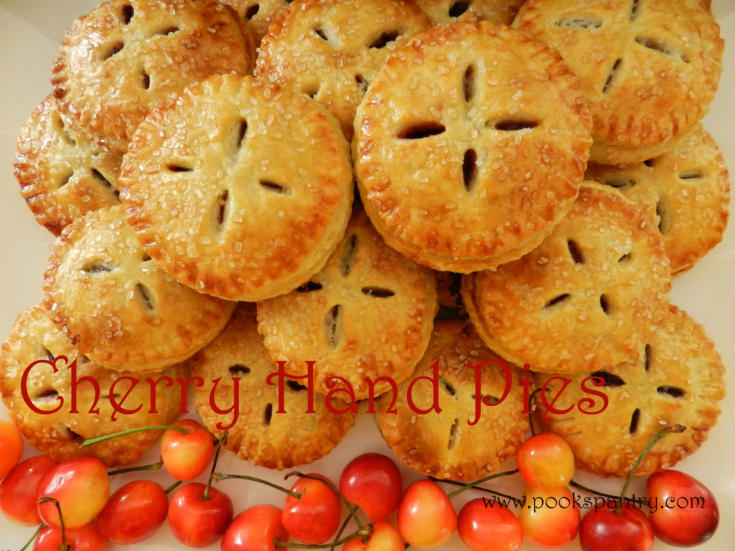 Sweet Tart Homemade Summer Cherry Hand Pies