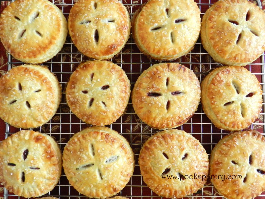 cherry hand pies pook