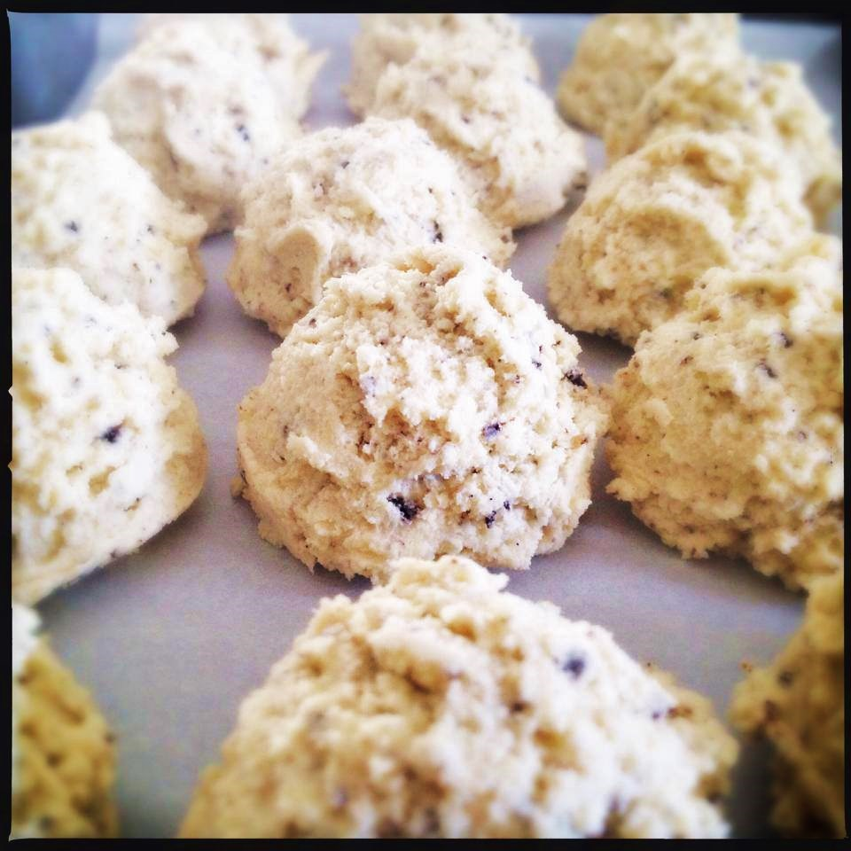 coffee butter cookie