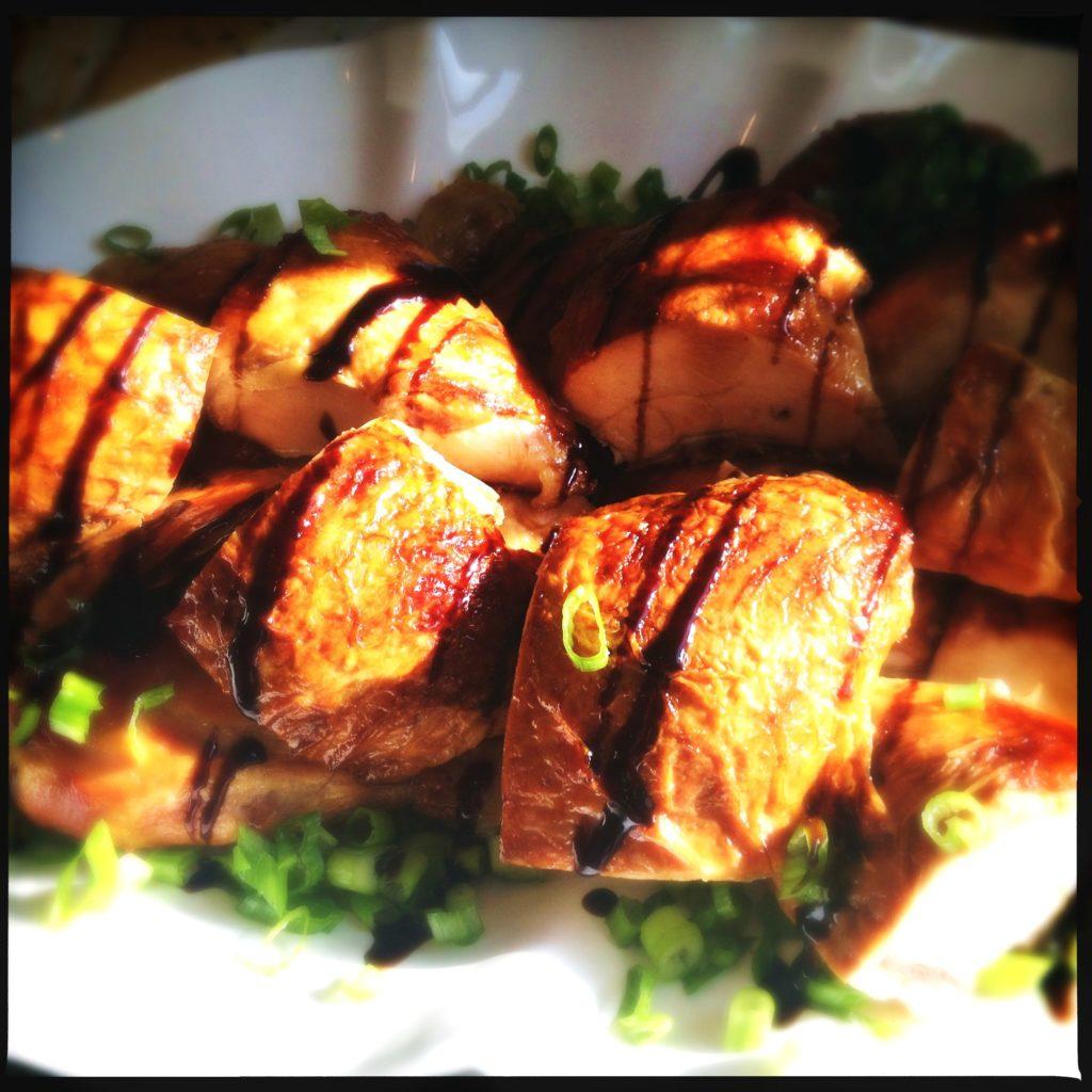 Roast Chicken with Balsamic Glaze