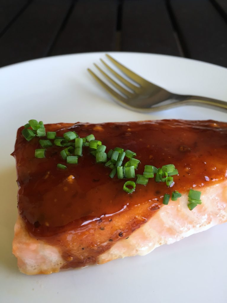 Honey Chipotle Salmon 010