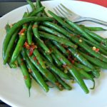 Kung Pao Green Beans