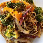 Soba Noodles with Stir-Fried Vegetables