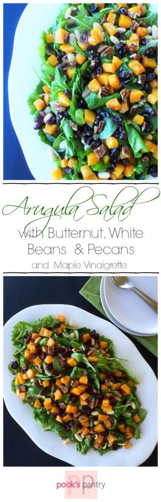 Arugula Butternut Salad - Pook's Pantry