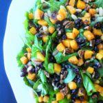 Arugula, Butternut & White Bean Salad with Maple Vinaigrette