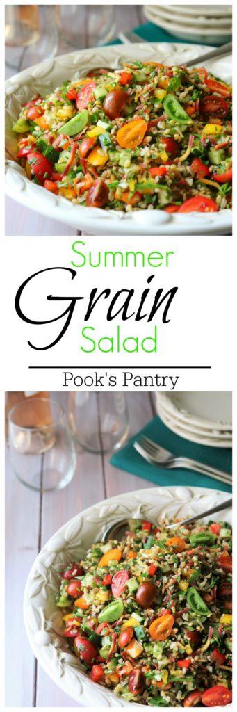 Summer Grain Salad | Pook's Pantry