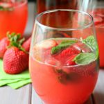 Watermelon Smash with Strawberries