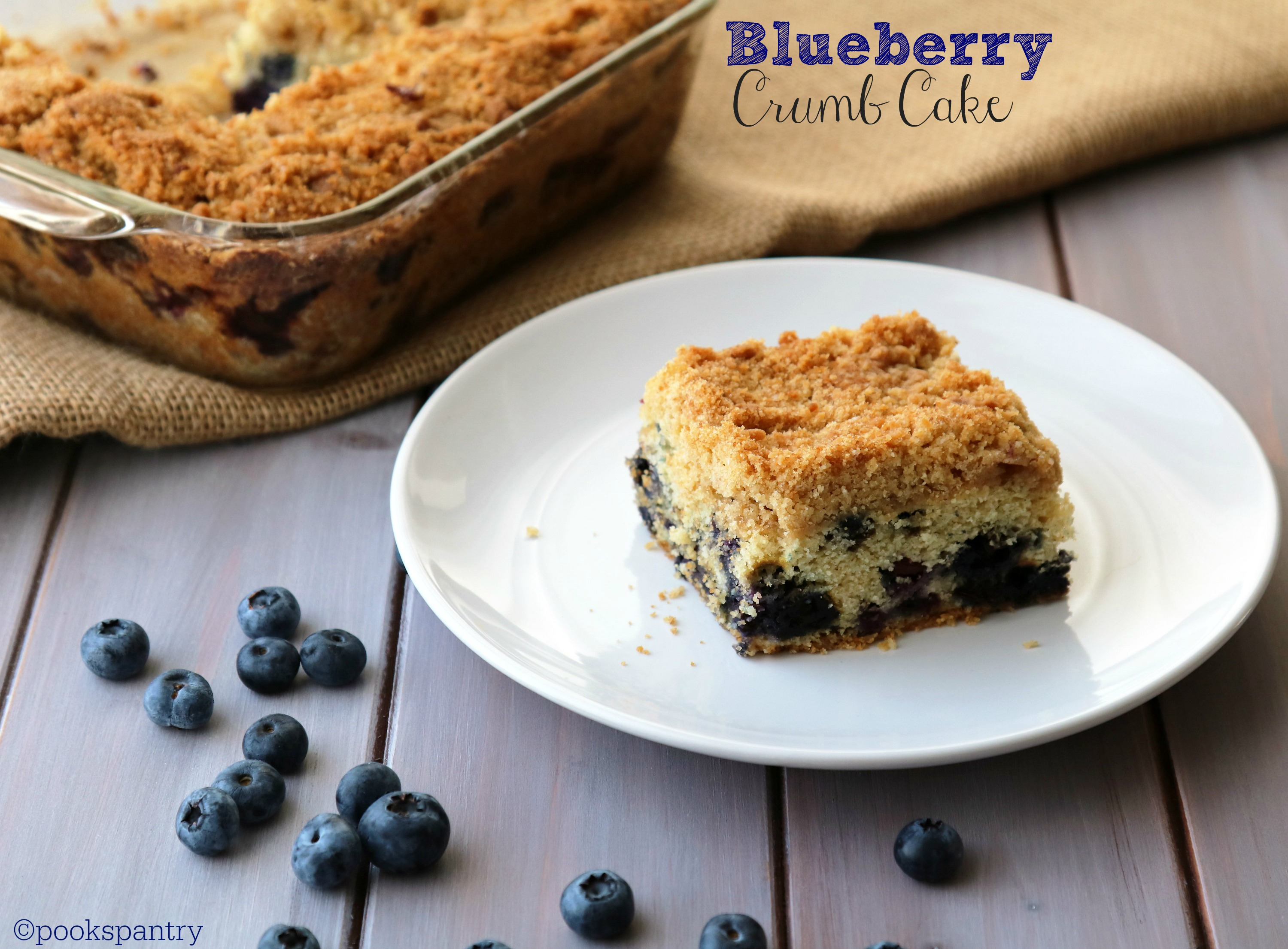blueberry cake PP