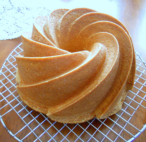 Pound Cake- photo and recipe by Jenni Field