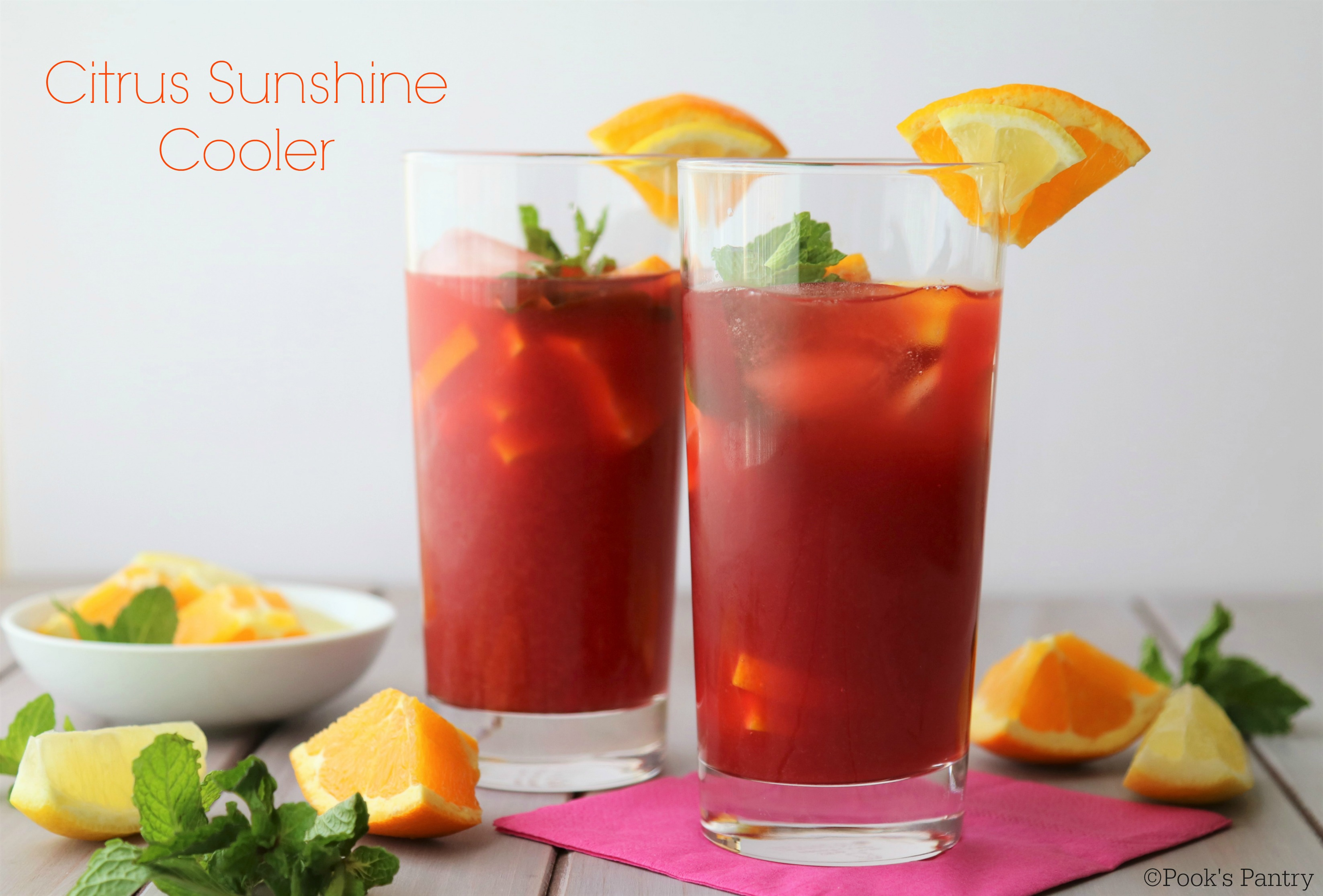 Citrus Sunshine Cooler - Pook's Pantry