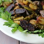 Roasted Fingerling Potatoes with Shishito Peppers