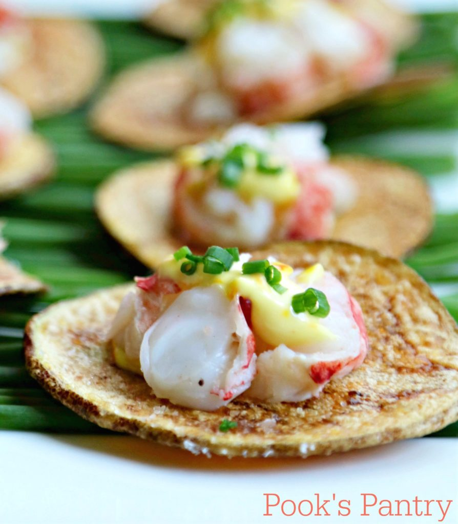 Lobster Tails on Thick-Cut Idaho® Potato Chips