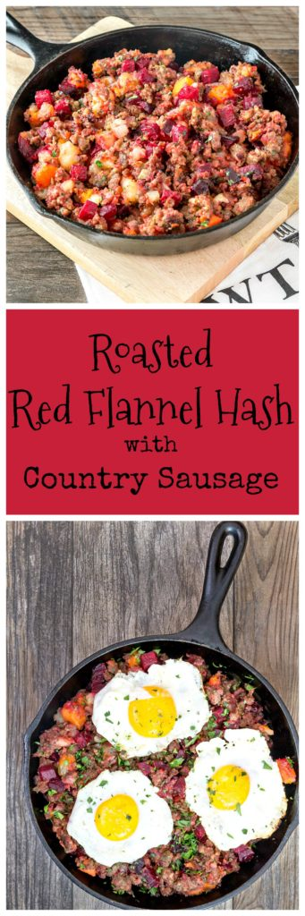 Roasted Red Flannel Hash