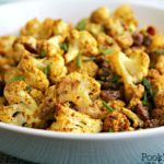 Curried Cauliflower with Golden Raisins