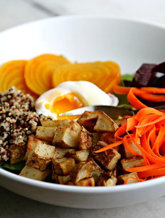 Winter Market Buddha Bowl - Pook's Pantry