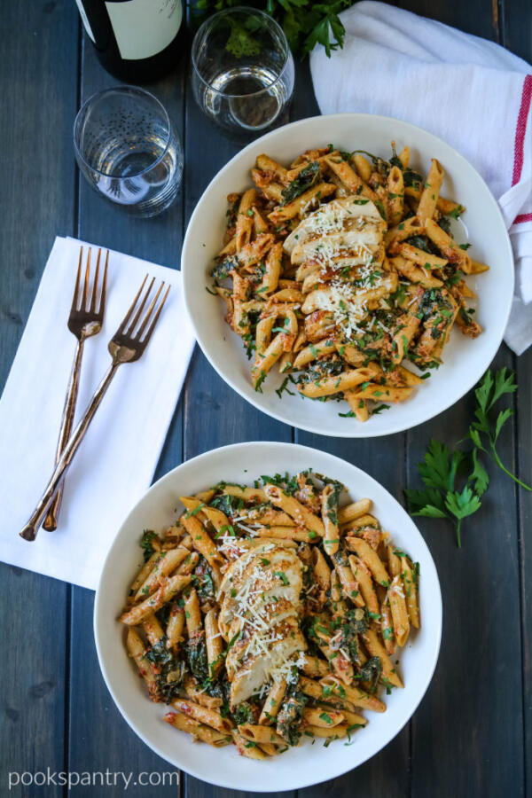 dinner divas meal plan one pot chicken pasta dinner