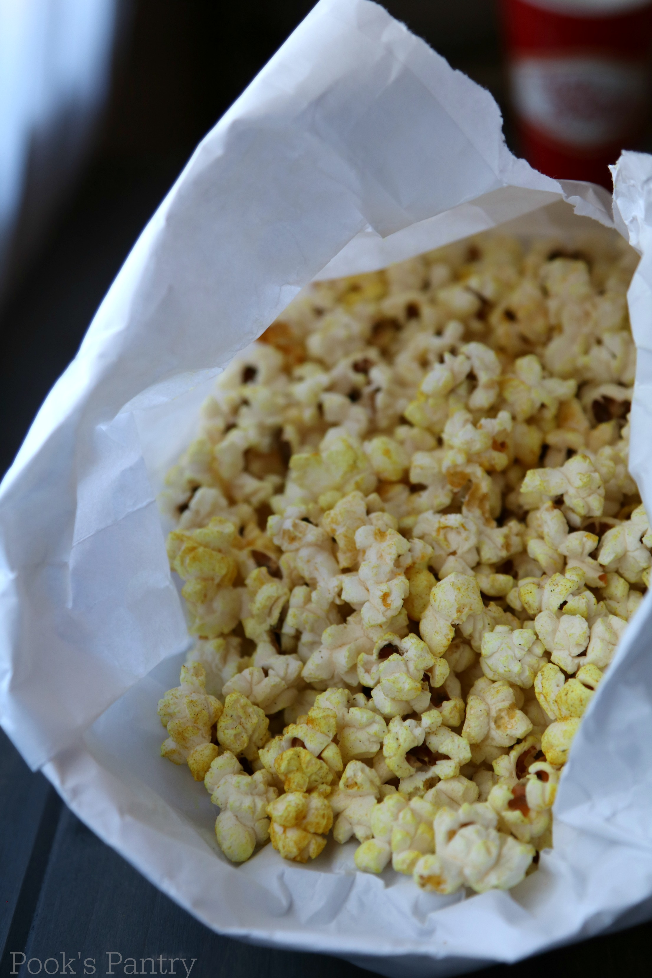 bag of coconut oil popcorn