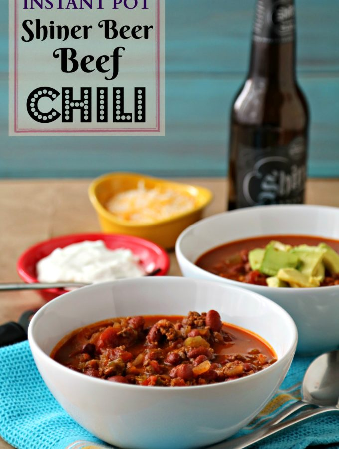 Shiner Beer Beef Chili