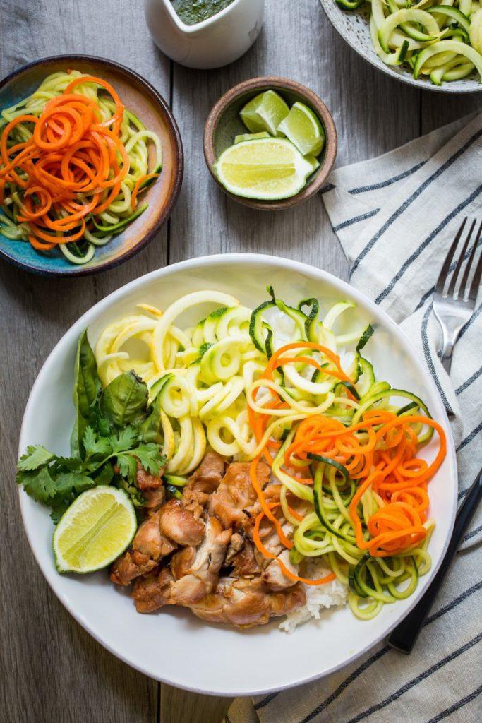 weekly meal plan - week one
