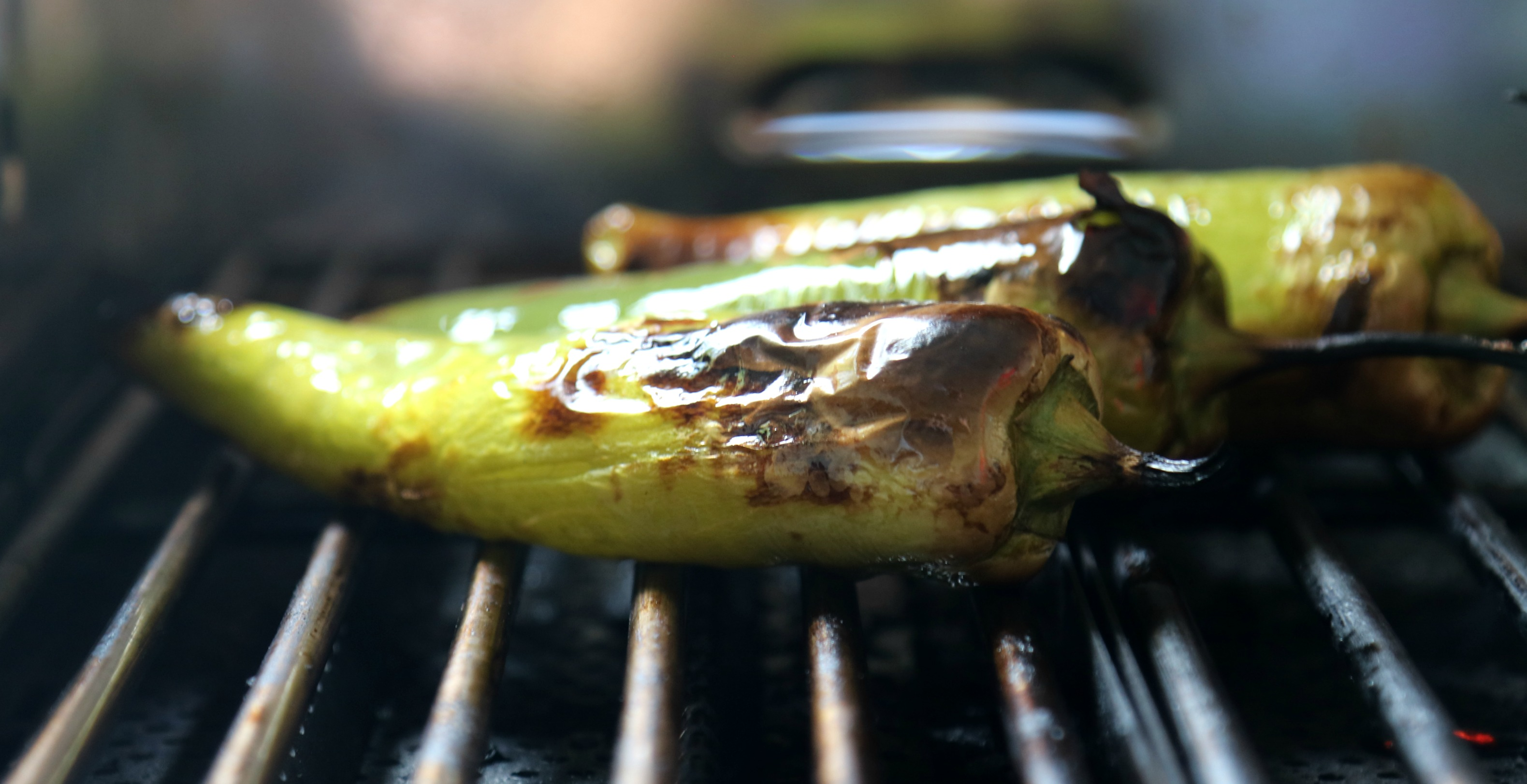 grilled chiles