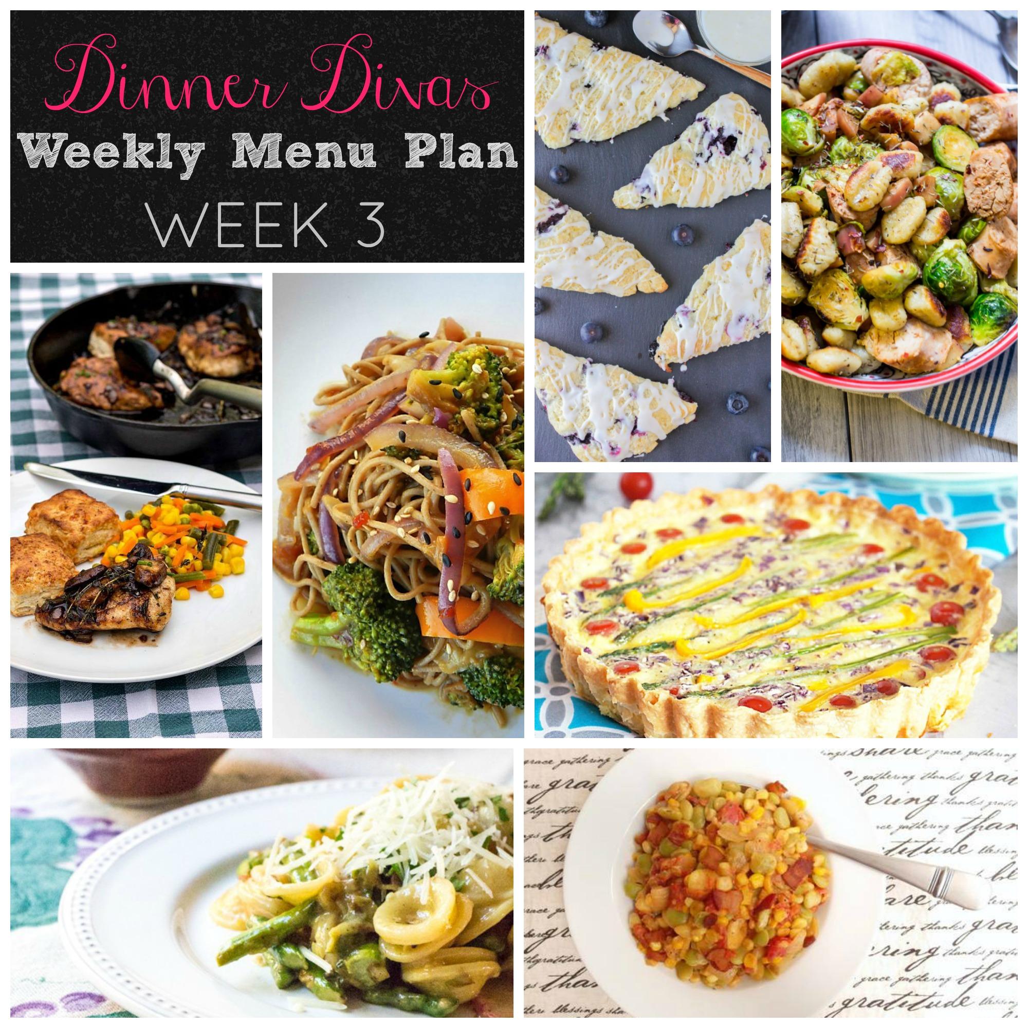 Dinner Divas - week 3