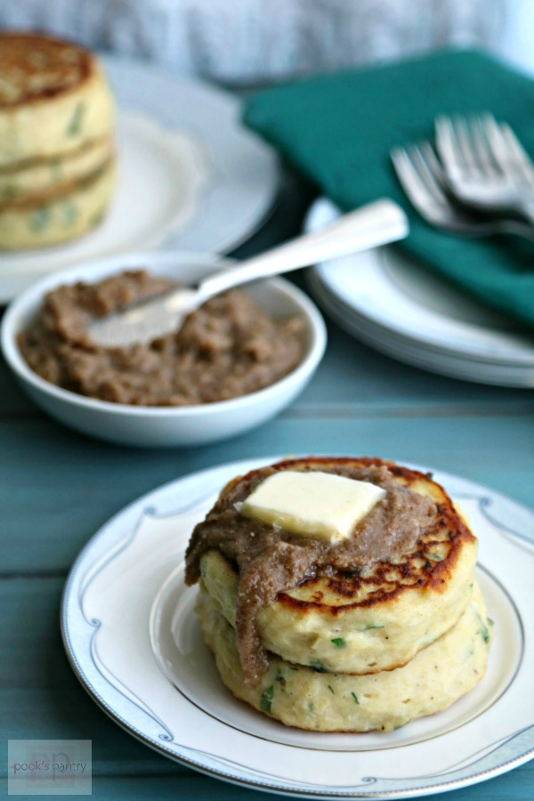 Potato Cakes with Pecan Butter | Pook's Pantry