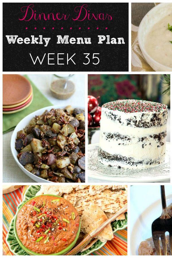 Menu Plan Week 35