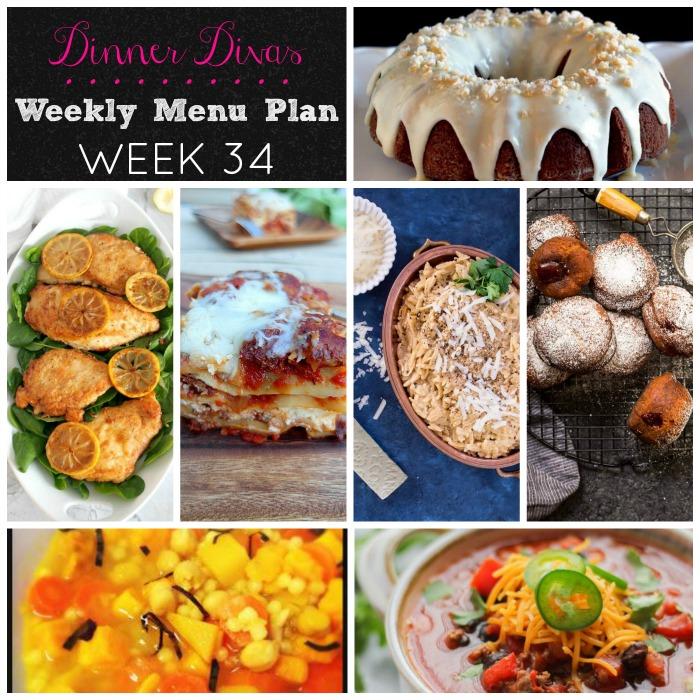 Dinner Divas Week 34