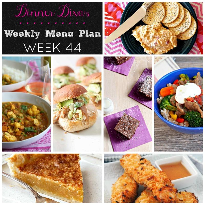 weekly menu 44