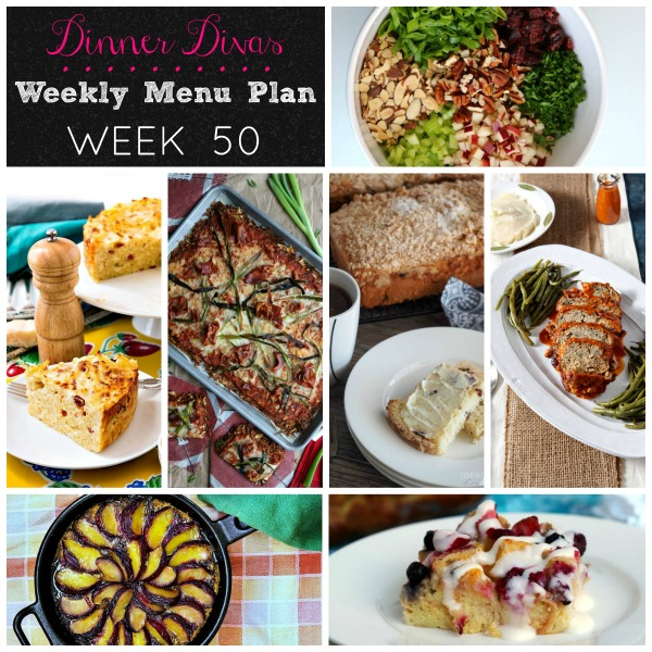 Menu Plan - week 50