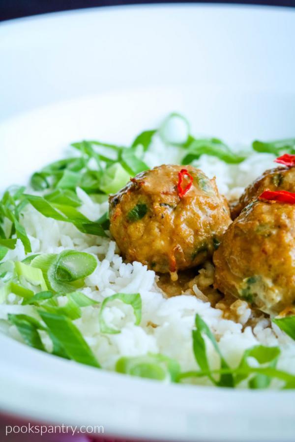 Thai meatballs
