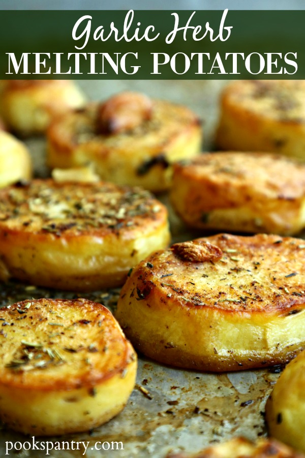 Melting potatoes are one of the easiest, most delicious ways to get a lot of bang for your buck for a quick side dish.