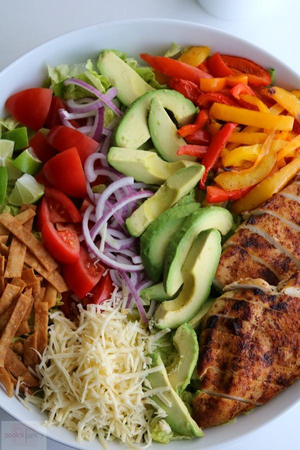 menu plan chicken salad