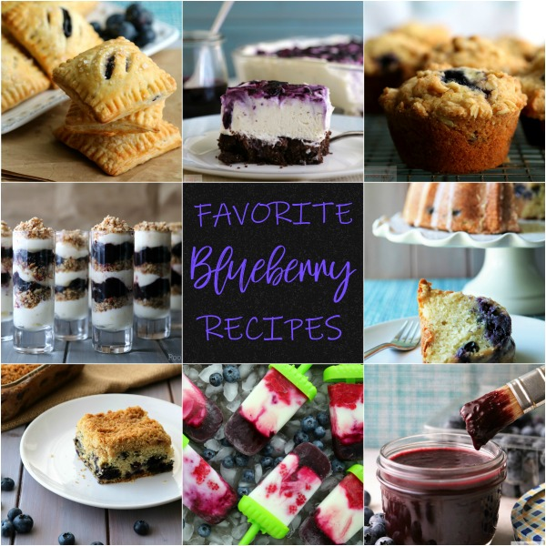 "July is National Blueberry Month and I can't think of a better way to celebrate than to ""blueberry all the things"".  While the season is over here, it is in full swing in other parts of the country and blueberries are readily available.  Let's make some blueberry recipes and celebrate this sweet little fruit."