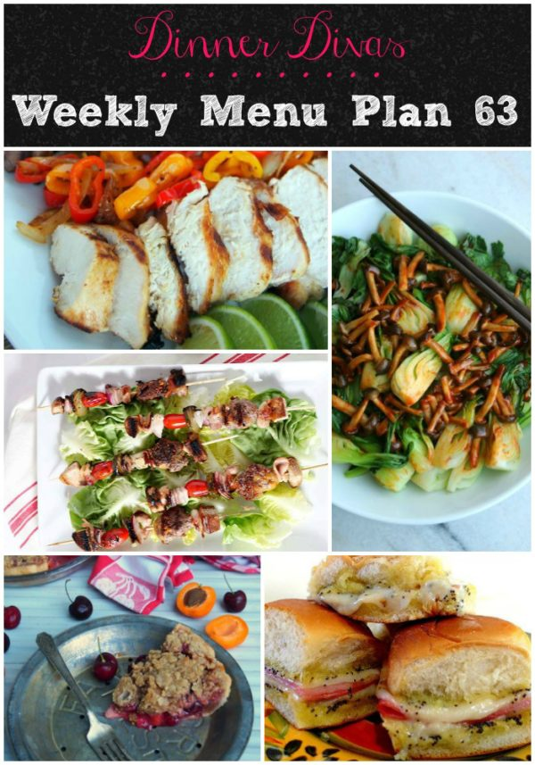 The Dinner Divas weekly menu plans feature (mostly) healthy, seasonal foods that don't take all day to prepare. Getting the weekly menu delivered to your inbox on Friday morning gives you the chance to make your shopping list and get organized for the week ahead.