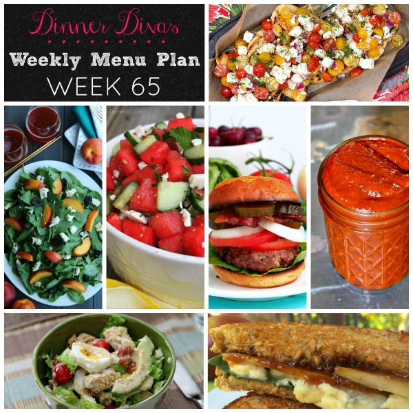 I hope this weekly menu plan provides inspiration and makes life a little easier… one meal at a time.