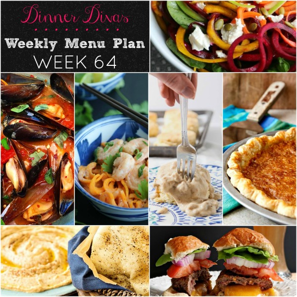 weekly menu plan 64