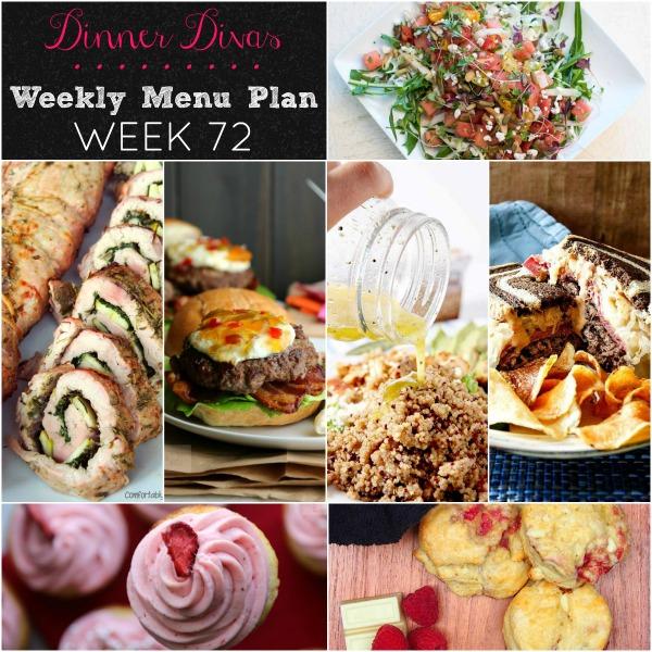 dinner divas week 72