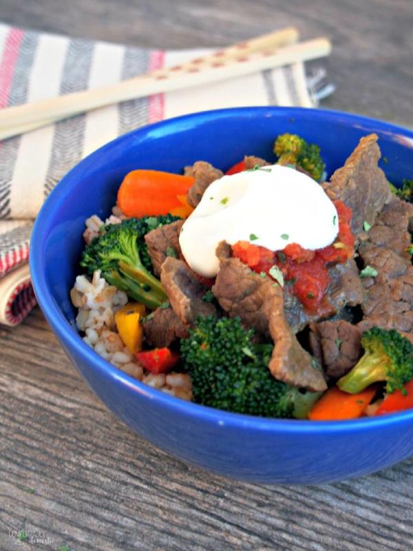 steak stir fry for weekly menu plan 86