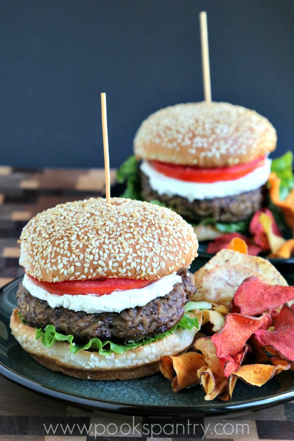 Middle Eastern Spiced Lamb Burger Recipe