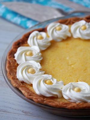Classic Southern Lemon Chess Pie