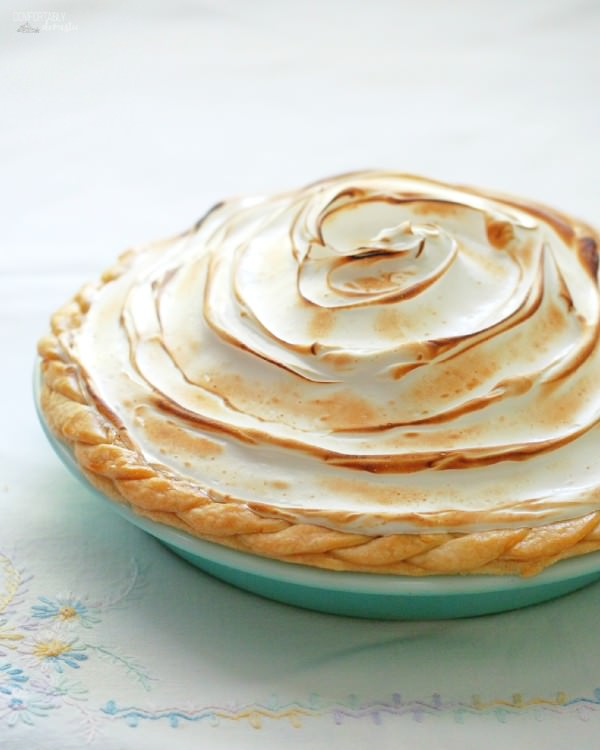 Lemon Meringue Pie - Comfortably Domestic