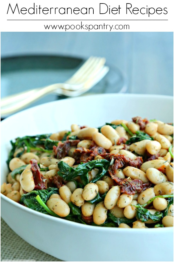 photo of white beans for mediterranean diet recipes