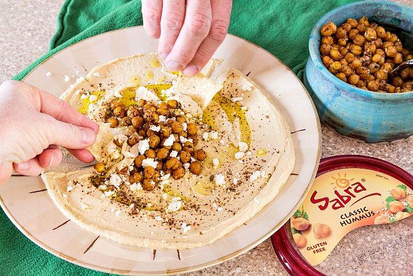 Hummus Toppings Turn Plain Hummus Into an Event! | Two Tasty Options