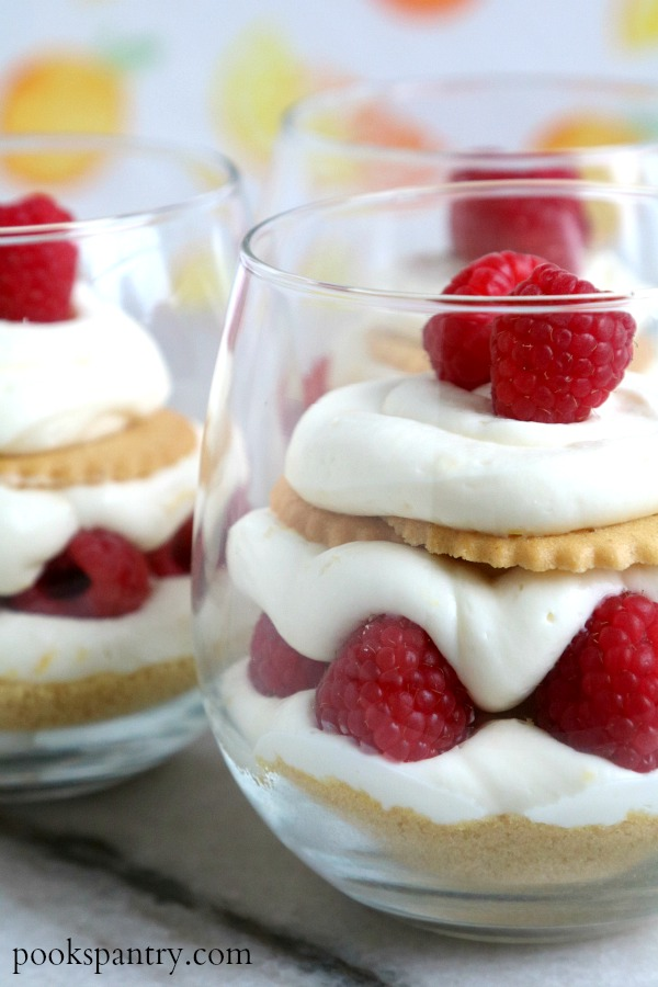 No Bake Lemon Cheesecake Parfaits