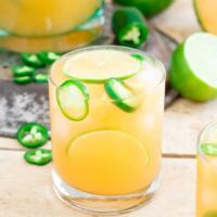 Cantaloupe Lime Jalapeno Agua Fresca
